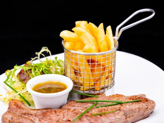 L'Auberge Faux Filet de Savoie et sa Sauce Chimichurri